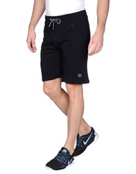 Iuter Trousers Bermuda Shorts Men Black