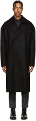 Tiger Of Sweden Black Diger Oversized Coat