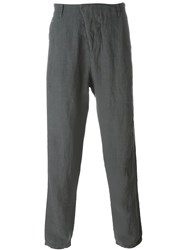Transit Lightweight Tapered Trousers Grey