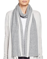 Theory Alandrina Color Block Cashmere Scarf Bloomingdale's Exclusive