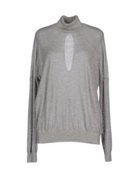 Marc By Marc Jacobs Turtlenecks Light Grey
