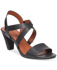 Lucky Brand Pacora Strappy Dress Sandals Women's Shoes Black