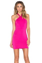 Rachel Pally X Revolve Halter Mini Dress Pink