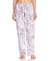 Yummie Tummie Yummie By Heather Thomson Floral Print Lounge Pants 70'S Floral