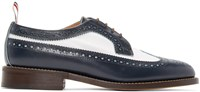 Thom Browne Navy Classic Longwing Brogues