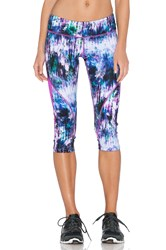 Pink Lotus Sparkle Performance Pant Purple