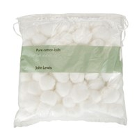 John Lewis Cotton Balls 100