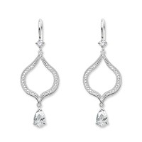 Thomas Sabo Purity Of Lotos Chandelier Earrings