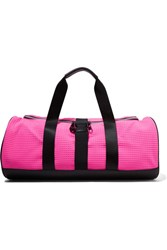 Monreal London Warrior Pvc Trimmed Quilted Scuba Bag Pink