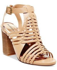 Madden Girl Madden Girl Remie Huarache City Sandals Women's Shoes Nude
