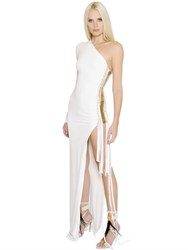 Alexandre Vauthier Asymmetrical Stretch Jersey Dress