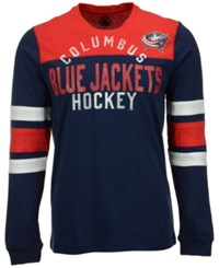 G3 Sports Men's Long Sleeve Columbus Blue Jackets Flying Ice T Shirt