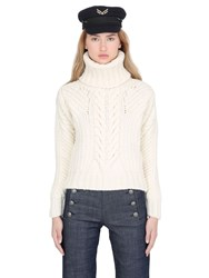 Tommy X Gigi Hadid Chunky Cable Knit Sweater