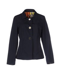 Maliparmi Coats And Jackets Jackets Women Dark Blue