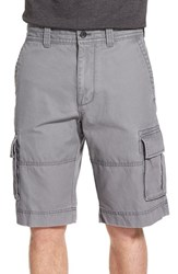 Nordstrom Men's Big And Tall Men's Shop Herringbone Cargo Shorts Grey Shade