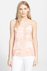 Halston Sequin Panel Camisole