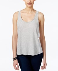 Calvin Klein Jeans Colorblocked Tank Top Light Grey Heather