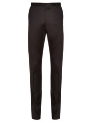 Lanvin Side Stripe Tailored Cotton Trousers