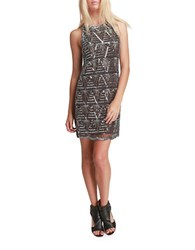 Walter Baker Alice Beaded Slip Dress Brown