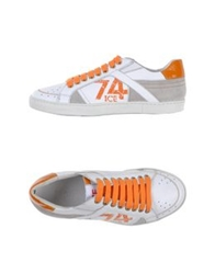 Ice Iceberg Low Tops And Trainers White