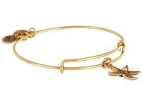 Alex And Ani Starfish Charm Bangle Rafaelian Gold Finish Bracelet