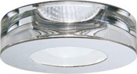 Fabbian Faretti Lei Stainless Steel Line Voltage Recessed Light