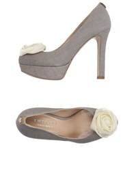 Twin Set Simona Barbieri Footwear Courts Women Dove Grey