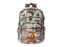 Sakroots Artist Circle Utility Backpack Natural Peace Backpack Bags Multi