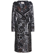 Peter Pilotto Metallic Coat Blue