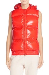 Women's Adidas By Stella Mccartney Hooded Quilted Gilet
