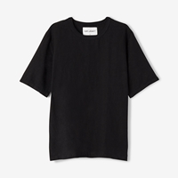 Our Legacy Weave Tee Washed Black