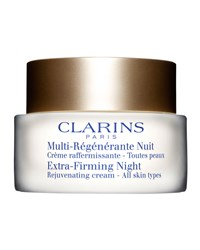 Extra Firming Night Rejuvenating Cream All Skin Types Clarins