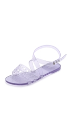 Tasty Jelly Sandals Clear