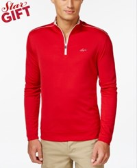 Greg Norman For Tasso Elba 1 4 Zip Mockneck Sweater