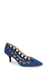 J. Renee 'Winda' Pointy Toe Pump Women Royal Blue