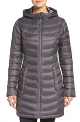 The North Face Women's 'Jenae' Hooded Down Jacket Graphite Grey