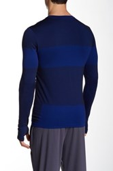 Brooks Streaker Long Sleeve Tee Blue