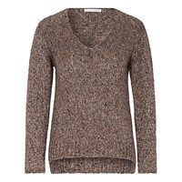 Oui Sequin Detail Jumper Walnut