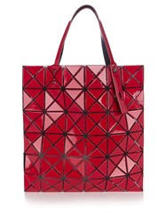 Issey Miyake Lucent Gloss Tote Red