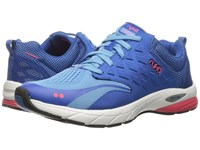 Ryka Knock Out Ethereal Blue Royal Blue Coral Rose Women's Shoes