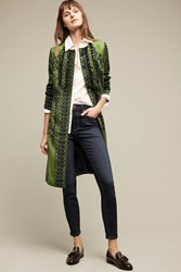 Anthropologie Pommed Veronika Coat Blue