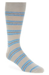 Men's Lorenzo Uomo 'Genova Stripe' Socks