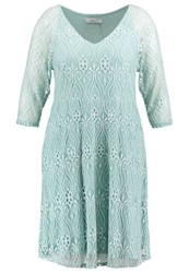 Zizzi Summer Dress Canal Blue Turquoise