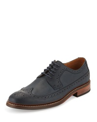 Cole Haan Williams Lace Up Oxford Blazer Blu