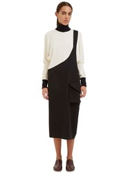 Alexa Stark Short Envelope Pocket Skirt Black