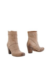 Pantanetti Ankle Boots Light Brown