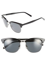Men's Ted Baker London 54Mm Polarized Sunglasses Black Gunmetal