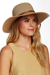 14Th And Union Floppy 2 Tone Belt Band Hat Beige