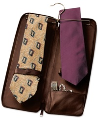 Royce Leather Tie Travel Case And Jewelry Storage Case Coco