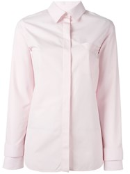 Courreges Classic Shirt Pink And Purple